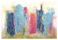 "City Dreams by Erin Ashley - 38"" x 26"", FulcrumGallery.com brand"