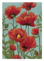 """Poppy Promenade II by Grace Popp - 20"""" x 28"""""""