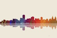 Adelaide SA Skyline 3 by Marlene Watson - various sizes