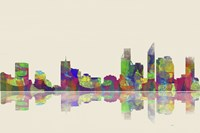 Perth WA Skyline 1 Fine Art Print