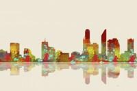 Perth WA Skyline 2 by Marlene Watson - various sizes