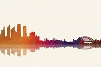 Sydney NSW Skyline 2 Fine Art Print