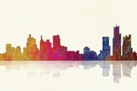 Boston Massachusetts Skyline 1 by Marlene Watson - various sizes - $43.99