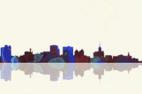 Buffalo New York Skyline 1 Fine Art Print