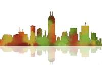 Indianapolis Indiana Skyline 1 by Marlene Watson - various sizes