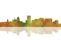 Portland Oregan Skyline 1 by Marlene Watson - various sizes