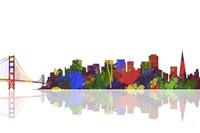 San Francisco California Skyline 1 Fine Art Print