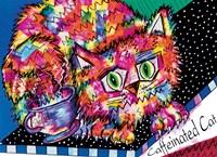 Caffeine Cat Fine Art Print