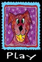 Play Dog Fine Art Print