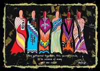 Sacred Circle by Pam Reinke - various sizes, FulcrumGallery.com brand