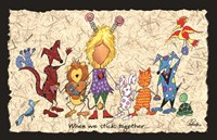 Stick Together Fine Art Print