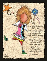 Yes I Can by Pam Reinke - various sizes