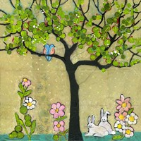 Bunny Tree by Blenda Tyvoll - various sizes