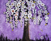 Radiant Orchid Tree by Blenda Tyvoll - various sizes