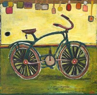 Bike Green by Jill Mayberg - various sizes - $22.49