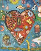 Sea Heart Fine Art Print