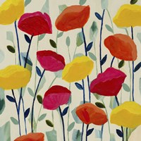 Cheerful Poppies by Carrie Schmitt - various sizes