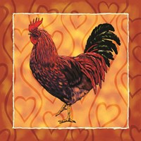 Rooster 4 Fine Art Print