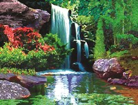 Waterfall D by Jeff Maraska - various sizes