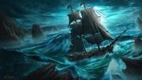 Dangerous Seas Fine Art Print