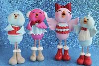Birds 4 Calling Birds Christmas 2014 by Sugar High - various sizes