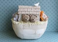 Noah's Ark Side View Bears Fine Art Print