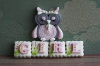 Owl Quilled Girl by Sugar High - various sizes