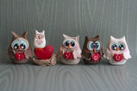 Owls I Love You by Sugar High - various sizes