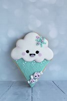 Snowcone Cookie by Sugar High - various sizes