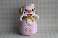Snowgirl Tickled Pink by Sugar High - various sizes