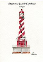 Charlevoix County Lighthouse, MI Fine Art Print