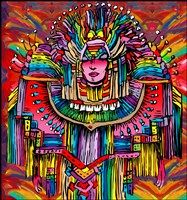 Mardigras Lady 1 by Howie Green - various sizes