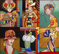 Art Deco Ladies 8 by Howie Green - various sizes