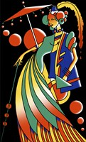 Art Deco Lady 4 by Howie Green - various sizes