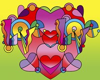 Love Color Heart by Howie Green - various sizes