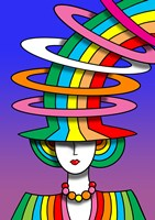 Lady Rainbow Hat by Howie Green - various sizes