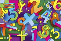 Math Mural by Howie Green - various sizes