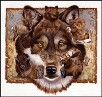 Wolf's World Fine Art Print