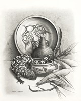 Night of the Gila Monster Fine Art Print