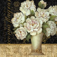 Antique Floral Still Life II by Pamela Gladding - various sizes