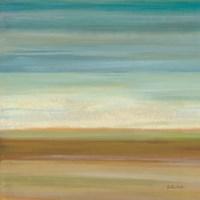 Turquoise Horizons I Fine Art Print