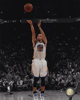 Stephen Curry 2014--15 Spotlight Action Framed Print