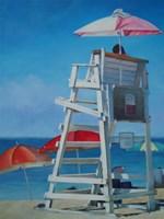 Lifeguard Fine Art Print