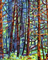 In A Pine Forest Fine Art Print