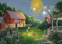 Fourth of July Fine Art Print