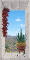 Aloe and Chilis I Framed Print