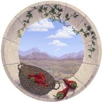 Chilis in the Round Fine Art Print