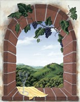Tuscan Arch Fine Art Print