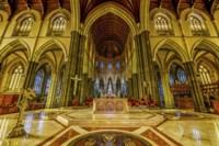 Church Interior Fine Art Print