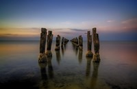 Lost Pier by Lincoln Harrison - various sizes